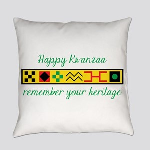 Happy Kwanzaa Everyday Pillow