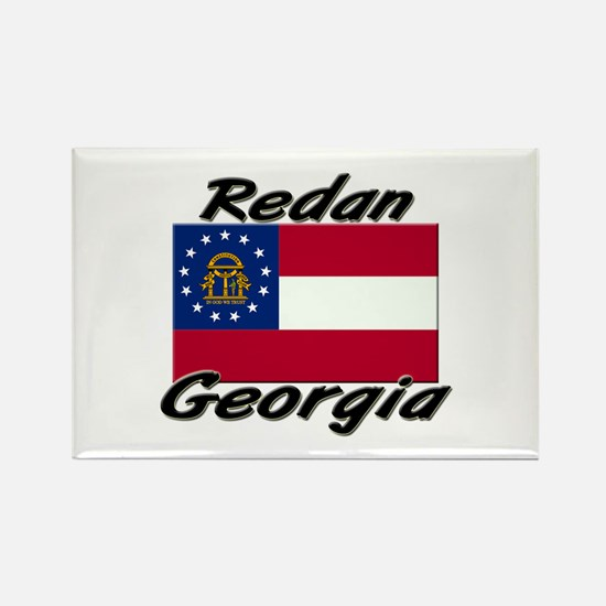 Redan Georgia Rectangle Magnet