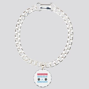 Warning Protected by a N Charm Bracelet, One Charm