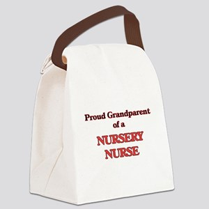 Proud Grandparent of a Nursery Nu Canvas Lunch Bag