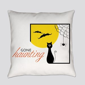 Gone Haunting Everyday Pillow