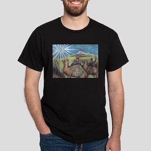 Three Magi Black T-Shirt