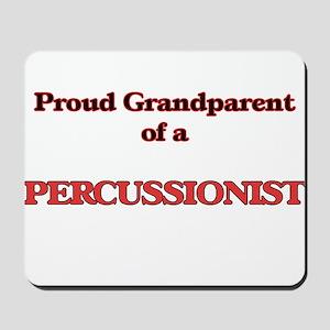 Proud Grandparent of a Percussionist Mousepad