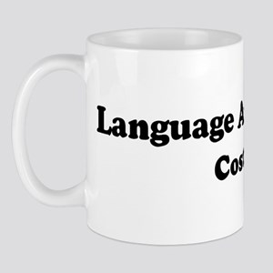 Language Arts Teacher costume Mug