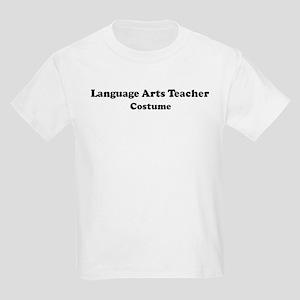 Language Arts Teacher costume Kids Light T-Shirt