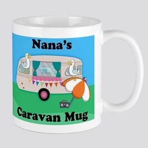 Nana's Caravan Fun Novelty Gift Mug Mugs