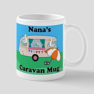 Nana's Caravan Fun Novelty Gift Mug Mugs