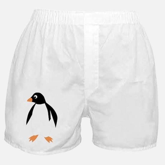 Cute Penguin body Boxer Shorts