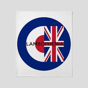 LAMBOPHENIA Throw Blanket