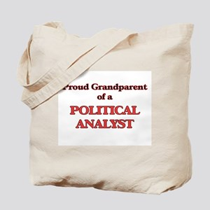 Proud Grandparent of a Political Analyst Tote Bag
