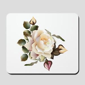 Beautiful Victorian Roses Mousepad