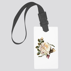 Beautiful Victorian Roses Large Luggage Tag