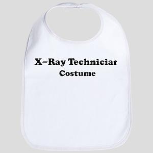 X-Ray Technician costume Bib