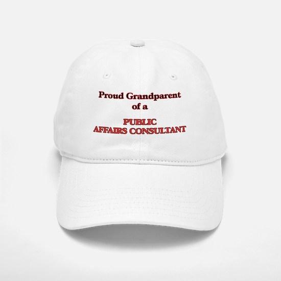 Proud Grandparent of a Public Affairs Consulta Baseball Baseball Cap