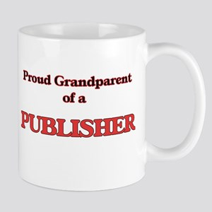 Proud Grandparent of a Publisher Mugs