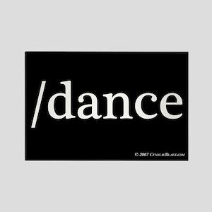 /dance Rectangle Magnet