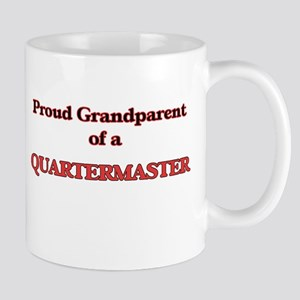 Proud Grandparent of a Quartermaster Mugs