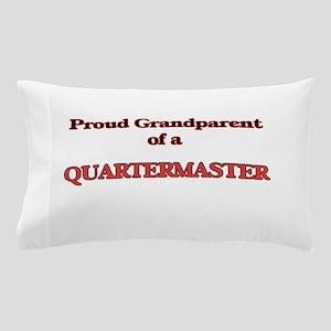 Proud Grandparent of a Quartermaster Pillow Case