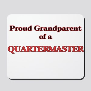 Proud Grandparent of a Quartermaster Mousepad