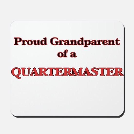 Proud Grandparent of a Quartermaster Mousepad