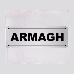 Armagh City Nameplate Throw Blanket