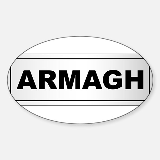 Armagh City Nameplate Decal