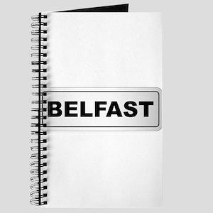 Belfast City Nameplate Journal
