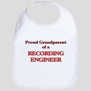 Proud Grandparent of a Recording Engineer Bib