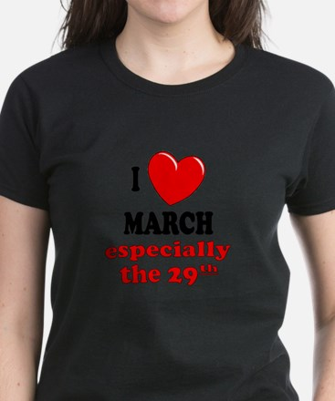 March 29th Women's Dark T-Shirt