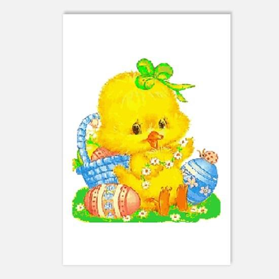 Vintage Cute Easter Postcards (package Of 8)