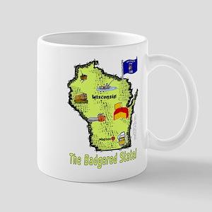 WI-Badgered! Mug