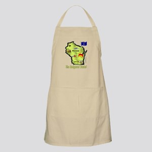 WI-Badgered! BBQ Apron