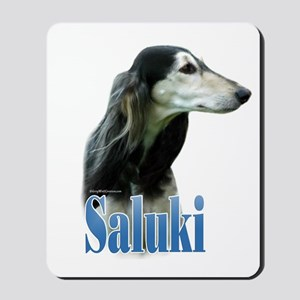 Saluki(tri) Name Mousepad