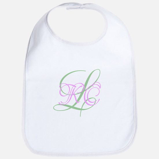 Personalized Monogram Your Text Original Bib