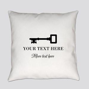 Old vintage key Everyday Pillow