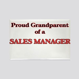 Proud Grandparent of a Sales Manager Magnets