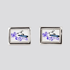 SUP Rectangular Cufflinks