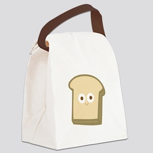 Slice Of Bread Canvas Lunch Bag