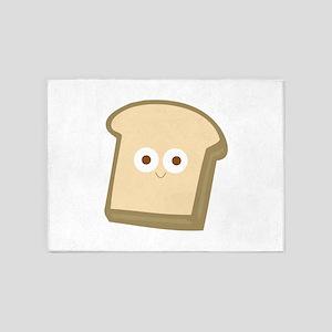 Slice Of Bread 5'x7'Area Rug