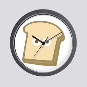 Slice Of Bread Wall Clock