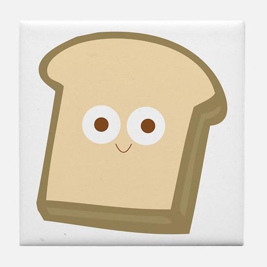 Slice Of Bread Tile Coaster