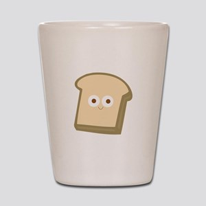 Slice Of Bread Shot Glass