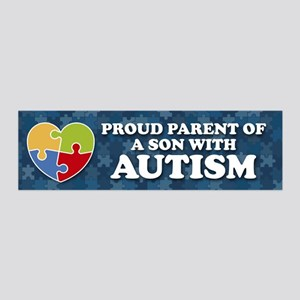 Proud Parent of Son with Autism Wall Decal