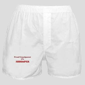 Proud Grandparent of a Shrimper Boxer Shorts