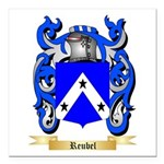 Reubel Square Car Magnet 3
