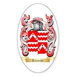 Resende Sticker (Oval 50 pk)
