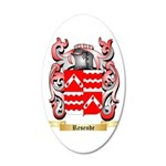 Resende 20x12 Oval Wall Decal