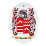 Resende Oval Ornament