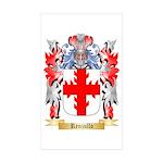 Renzullo Sticker (Rectangle 50 pk)