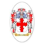 Renzullo Sticker (Oval 10 pk)